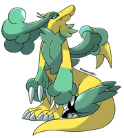 Fakemon Clovyr by Phatmon66