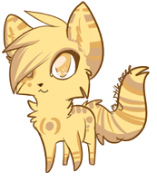 free cheeb for Kittens auction by MystikMeep