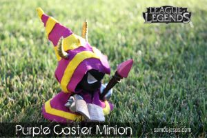 purple caster minion by samdejesus