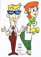 dexter's mom and dad by ValerieGalvez