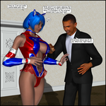 President Perv by LordSnot