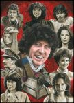 Doctor Who - The Fourth Doctor by caldwellart