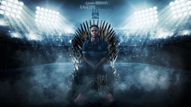 Raheem Sterling Wallpaper - Game of Thrones by RakaGFX