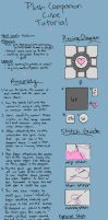 Companion Cube Tutorial by jefita