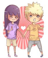 Naruhina- Chibi by Immature-Child02