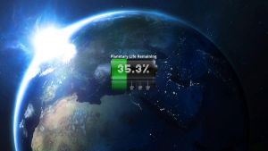 Planetary Life Remaining 2011 by FlintlockGreystone