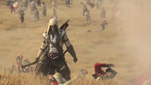 Assassins Creed 3 Connor Wallpaper by PabloDoogenfloggen