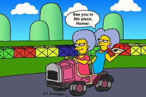 Patty and Selma Double Dash by DJgames