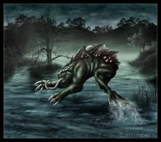 Monster from the swamp by Zamkowa