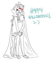 H4PPY H4LLOW33N uncoloured by madcat2316