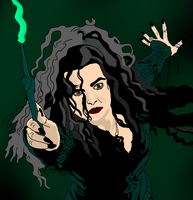 Bellatrix Lestrange by DCFangirl01