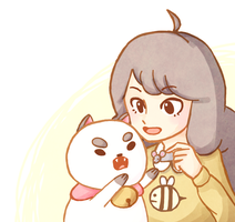 Bee And PuppyCat by Morisaurus