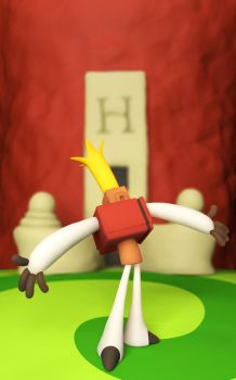 The Neverhood: Hoborg by keyan3d