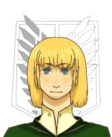 Armin by LittlebittaNeko