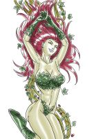 DSC_Pinup-ish Poison Ivy by danitoons