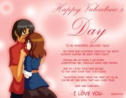 Valentines Day card by Banzatou