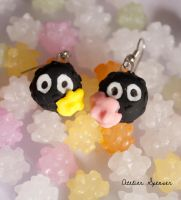 Soot Sprite Earrings by MaverickMae