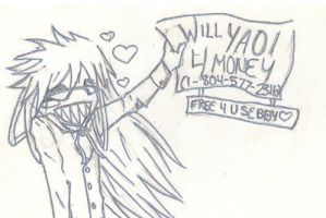 Grell Will Yaoi. by kibby666