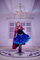 Frozen - Princess Anna of Arendelle by FirehawkCosplay