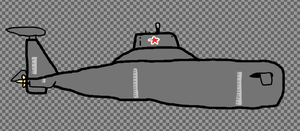 {WIP}  Drawing the Red October by blackstormwarrior