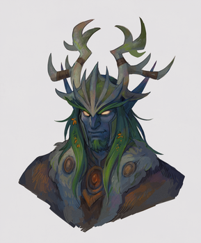 Druid by Drkav