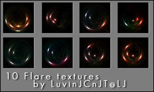 Icon Flare Textures by IbeLIEve6277