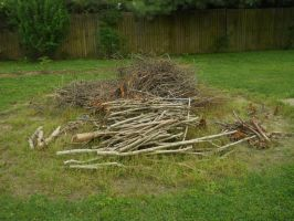 Stick Pile Stock 2 by Orangen-Stock
