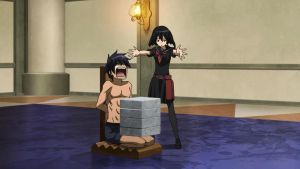 Wave and Kurome Punishment by weissdrum