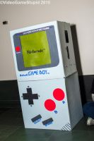 Anime Boston 2015 - Gameboy by VideoGameStupid