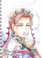 Another watercolor practice by Rozen-Guarde