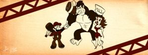Donkey Kong Facebook Cover Photo by dougk101
