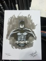 The Dark Knight by sirandal