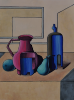 Still Life in Dali style by Irkis