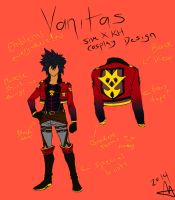 Attack on Hearts Vanitas Cosplay Design by Raspberry-Alleycat