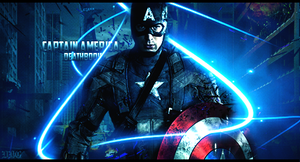 Captain America Signature by DeathB00K