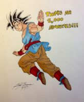 Thanks for 1,000+ favs! by gokujr96