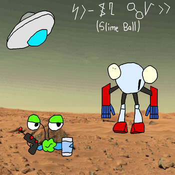 Slime Ball 2.0 by PantaroParatroopa
