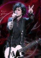 Billy Joe Armstrong by Auranixide