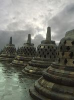 borobudur temple by simply-syifa