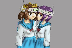 The Mind control of Haruhi Suzumiya by Malroth00