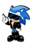 Classic Scourge 'evil-sonic' by JKLGart