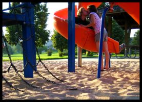 Playground Romance by FramedByNature