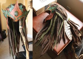 Wood Elf Headdress v02 - WIP by Shendorion