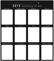 2015 Art Summary BLANK by DustBunnyThumper