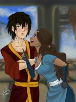 Zutara-HappyZuko Collab II by KyokoMari