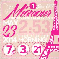 Miamour Bday by xman20