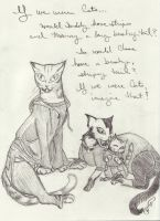 We Were Cats by GillianIvy