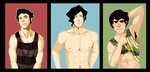 Men of LoK: Swimsuit Edition by Parrot4a