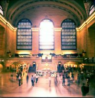 grand central, nyc by splatou