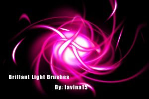 .:Brilliant Light Brushes:. by LavinaStock
